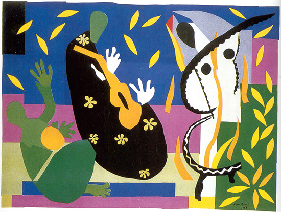 The King's Sadness by Henri Matisse