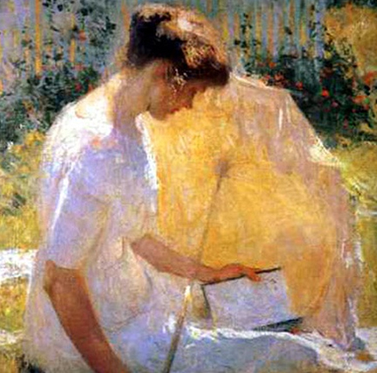 The Ready by Frank Weston Benson