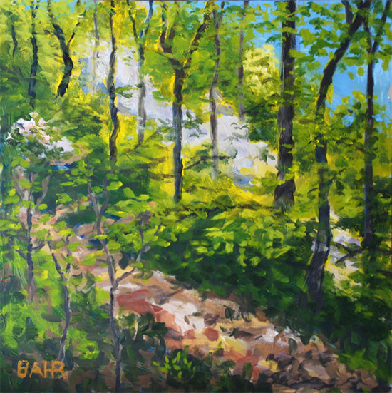 Forest Painting © Bob Bahr