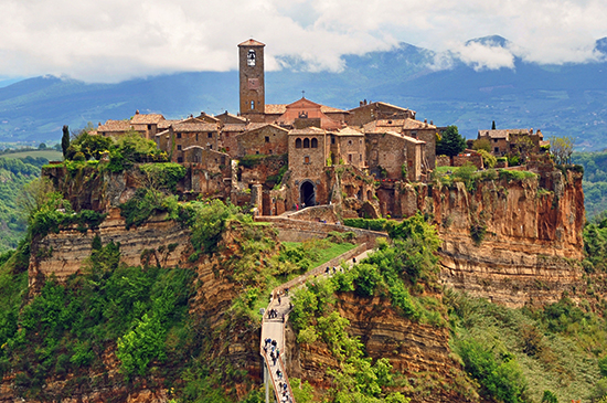 photo of Civita di Bagnoregio