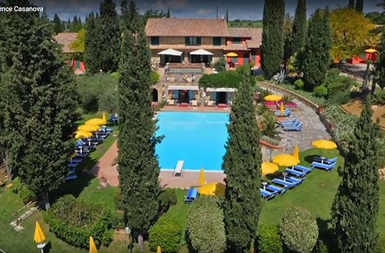 Photo of Residence Casanova spa in Tuscany Italy