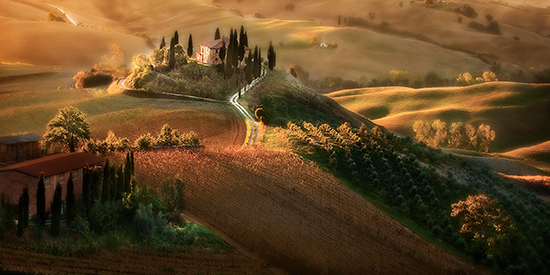 Robert Copeland photo: Tuscan Morning.