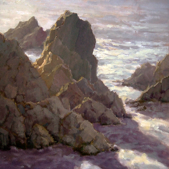 Sonoma Coast Stacks by Richard Lindenberg