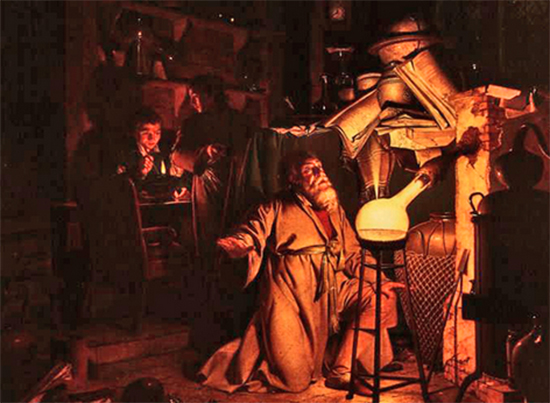 The Alchemist by Joseph Wright