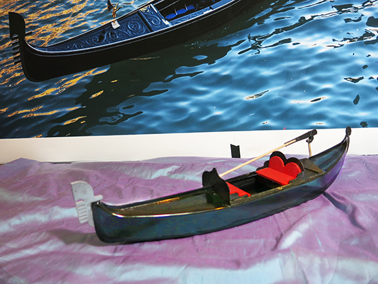 Photograph of Gondola Model