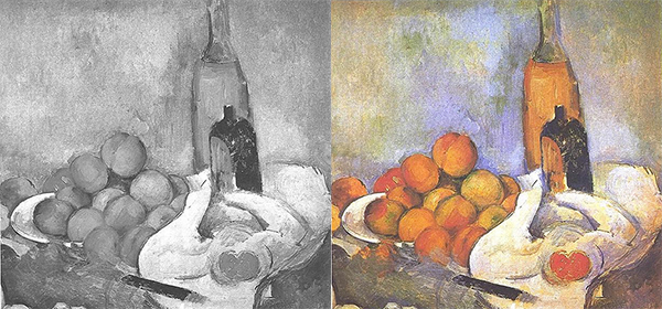 Still Life with Bottles by Cezanne