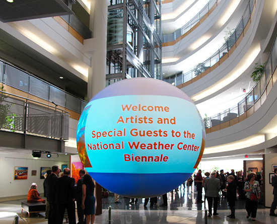 The National Weather Center Biennale