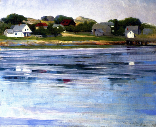 Half-Tide, Annisquam River, ca. 1905, Cecilia Beaux