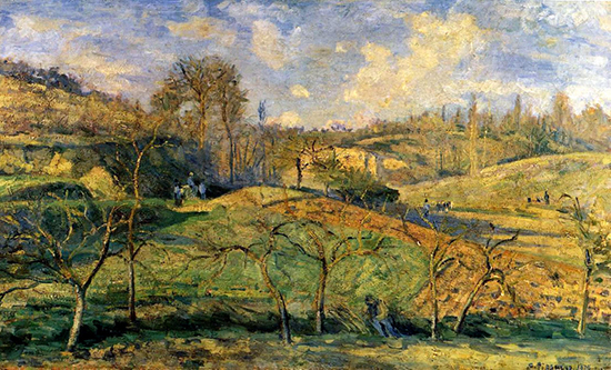 Oil Painting by Camille Pissarro