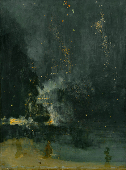 Nocturne in Black and Gold - The Falling Rocket