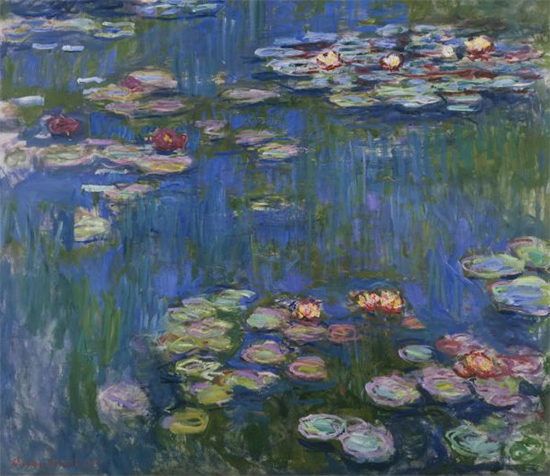 Nymphaea, 1916, Claude Monet