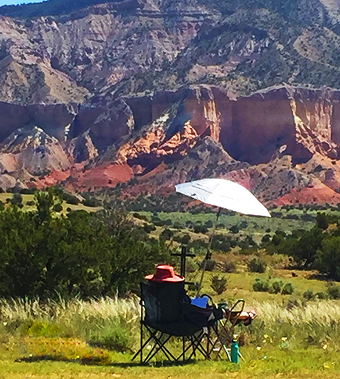 Plein Air Painting in New Mexico