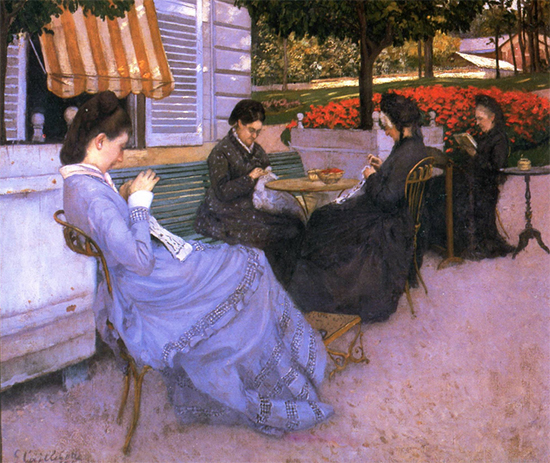 Portraits in the Countryside, 1876, Gustave Caillebotte