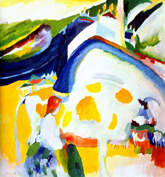 The Cow, 1910, Wassilly Kandinsky