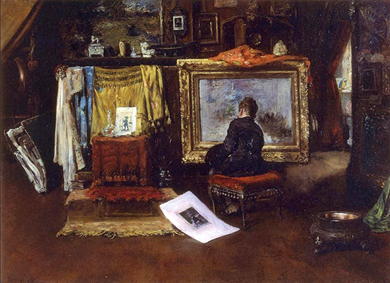 Painting by William Merritt Chase