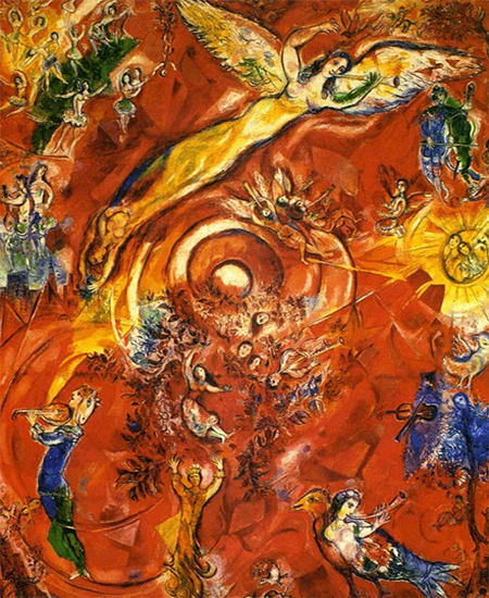 The Triumph of Music by Marc Chagall