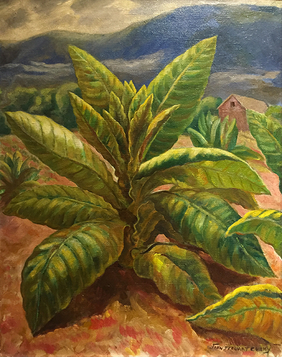 Tobacco Plant by John Steuart Curry