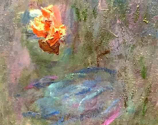 Detail from Monet Waterlily Panel