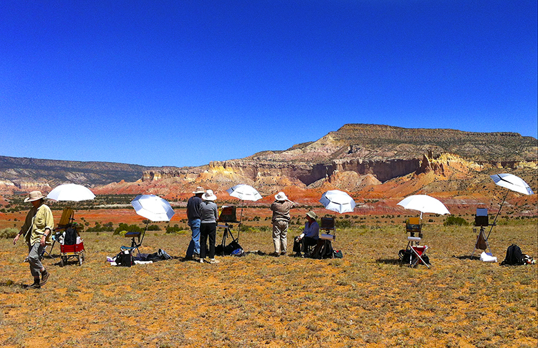 Workshop Class at Ghost Ranch