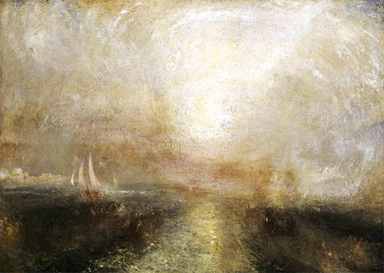 Yacht Approaching the Coast, ca. 1840-45, J. M. W. Turner