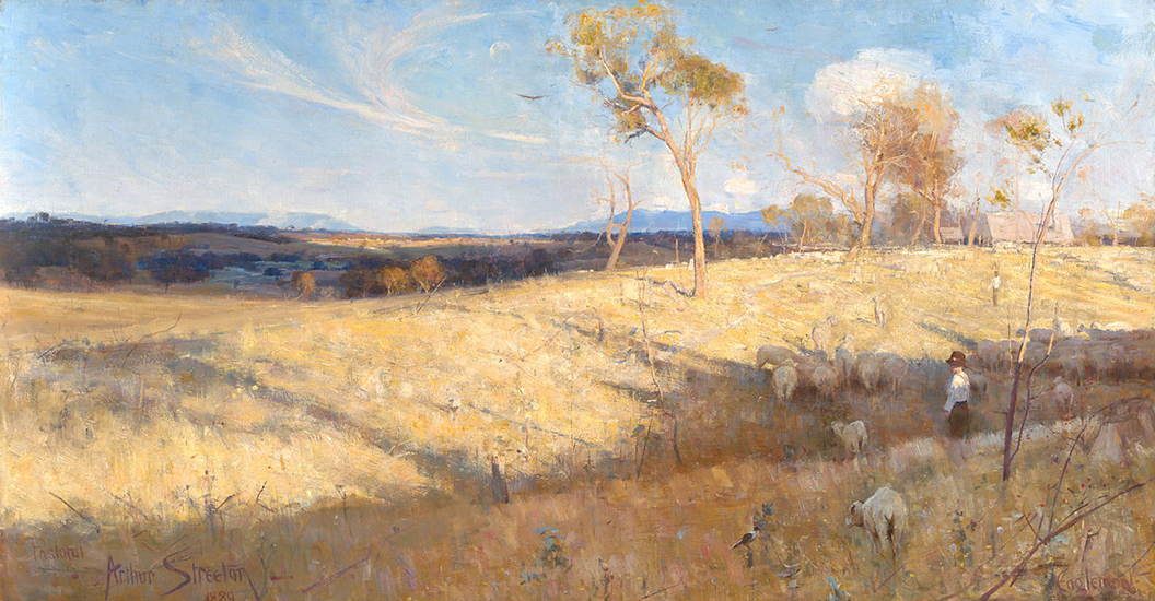 Oil Painting by Arthur Streeton