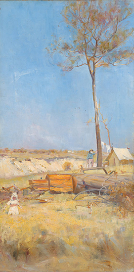 Oil Painting by Charles Conder
