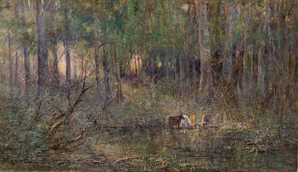 Oil Painting by Frederick McCubbin