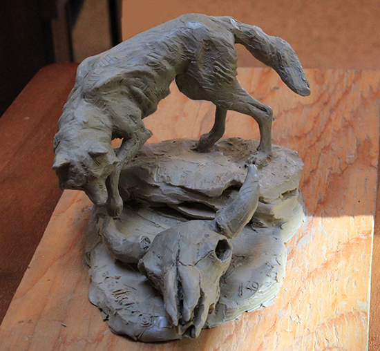 Sculpture Maquette by John Phelps