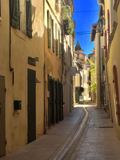 Street in St. Remy, France